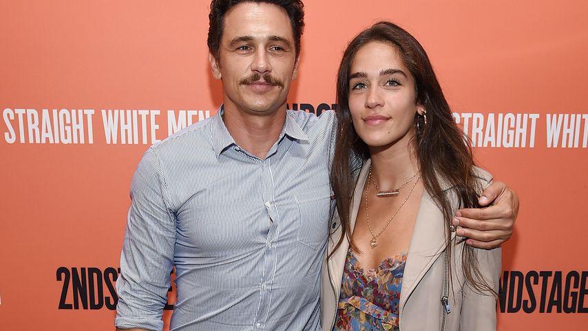James Franco und Isabel Pakzad im Juli 2018