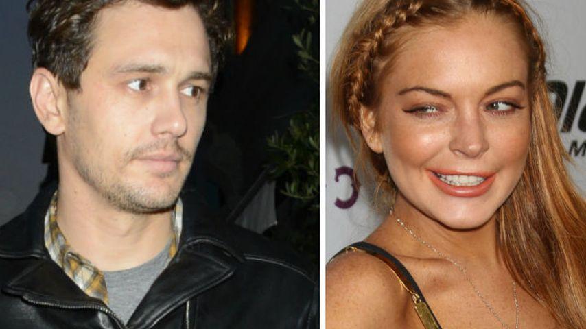 James Franco dementiert Sex mit Lindsay Lohan