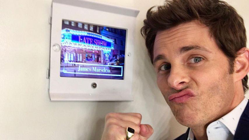 James Marsden bei der Colbert Late Show 2018