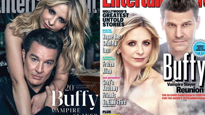 Spike oder Angel? Buffy-Star Sarah Michelle Gellar wählt...