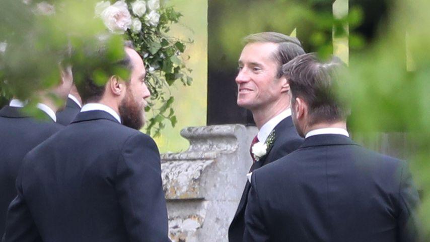 Pippas Hochzeit: Bräutigam James kann es kaum noch erwarten