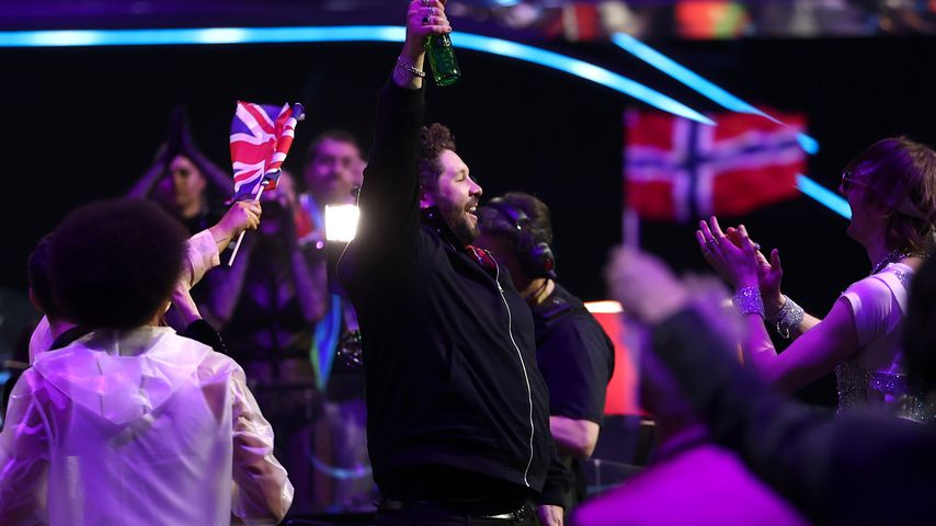 James Newman beim Eurovision Song Contest 2021