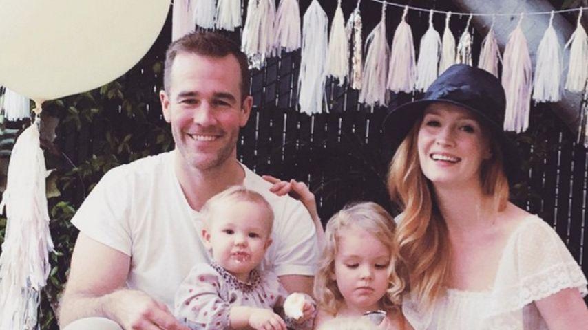 James van der Beek und seine Familie