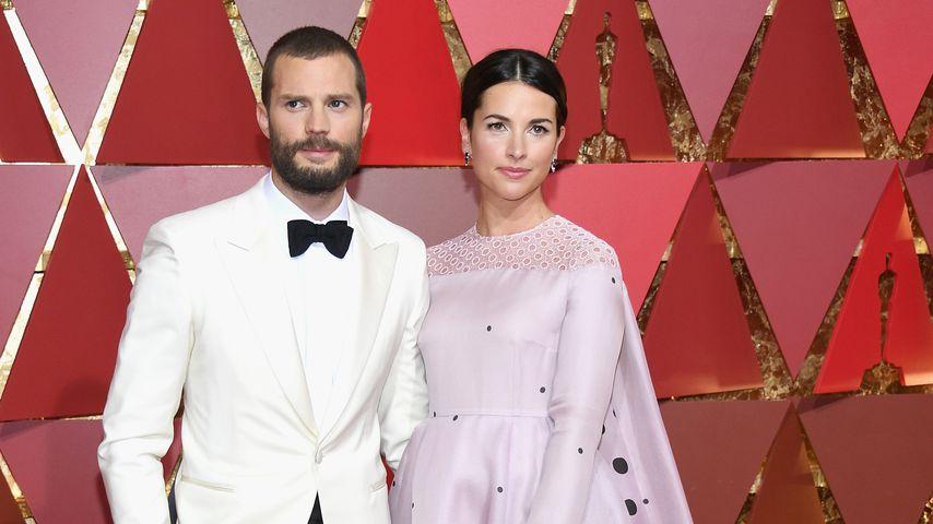 Jamie Dornan und Amelia Warner bei den Academy Awards in Hollywood