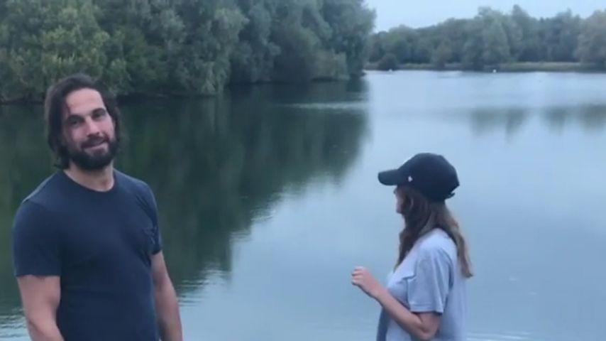 Jamie Jewitt prankt seine Freundin Camilla Thurlow