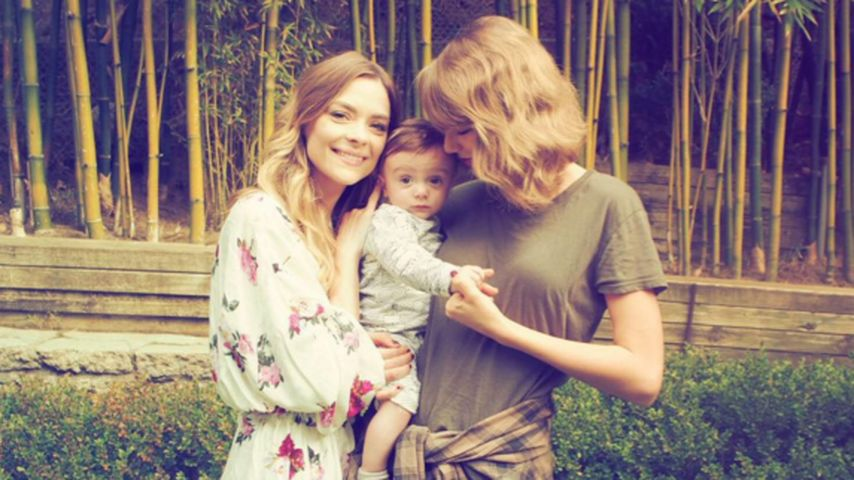Taylor Swift, Jaime King und Leo Thames Newman