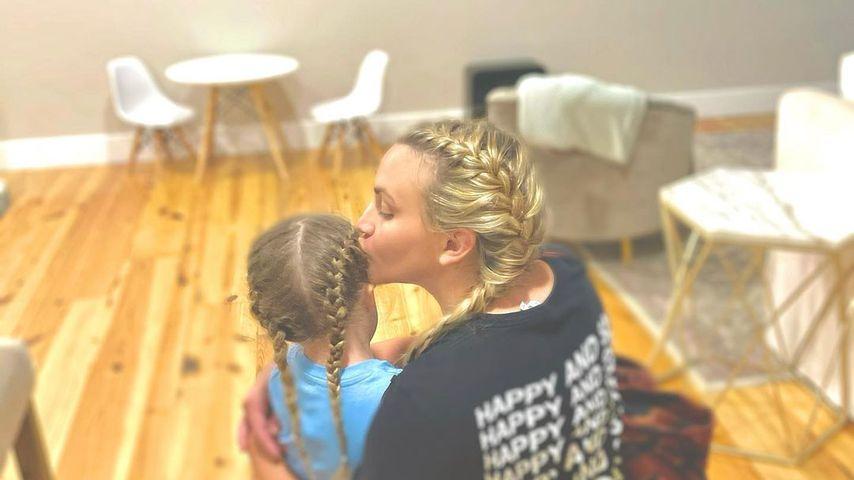 Jamie Lynn Spears (r.) mit ihrer Tochter Ivey