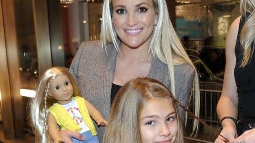 Jamie Lynn Spears mit ihrer Tochter Maddie