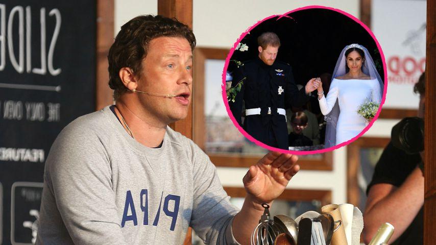 Abgelehnt: Jamie Oliver wollte bei Meghans Hochzeit kochen