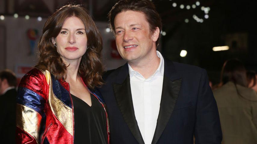 Babybauch-Auftritt: Jamie Oliver wird zum 5. Mal Vater