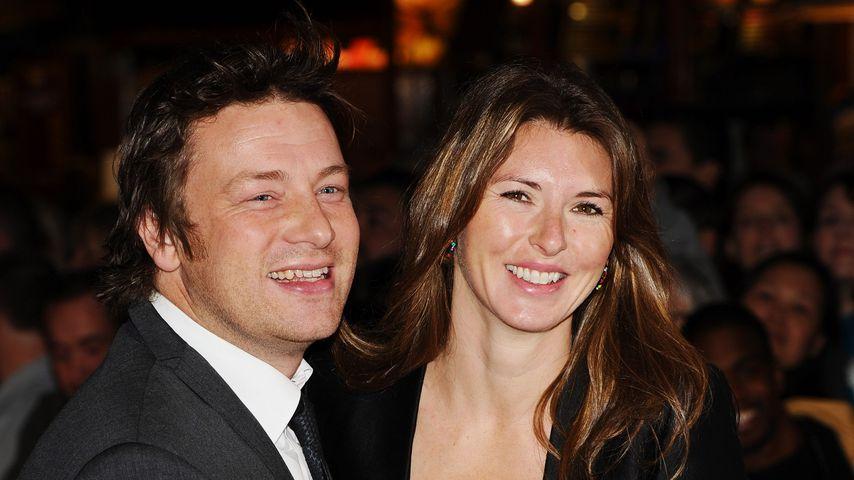 Nach fünf Kindern: Jamie Olivers Frau will mehr Nachwuchs
