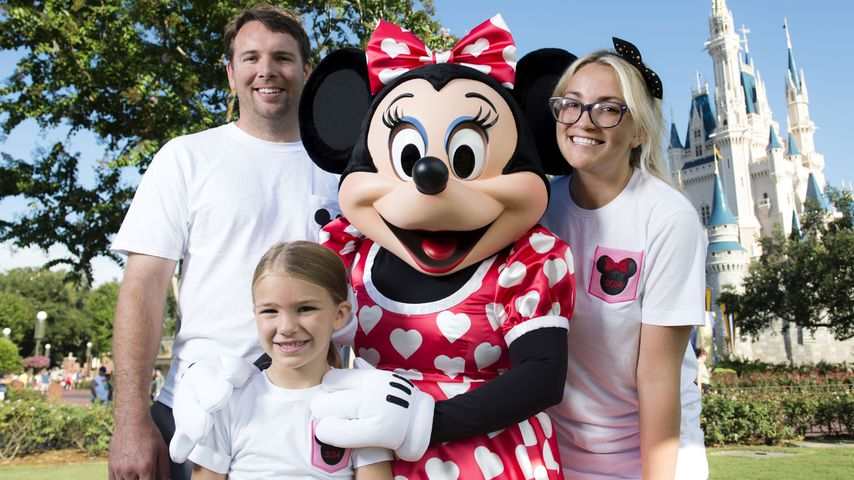 Jamie Watson, Maddie Briann Aldridge und Jamie Lynn Spears in Disney World in Miami