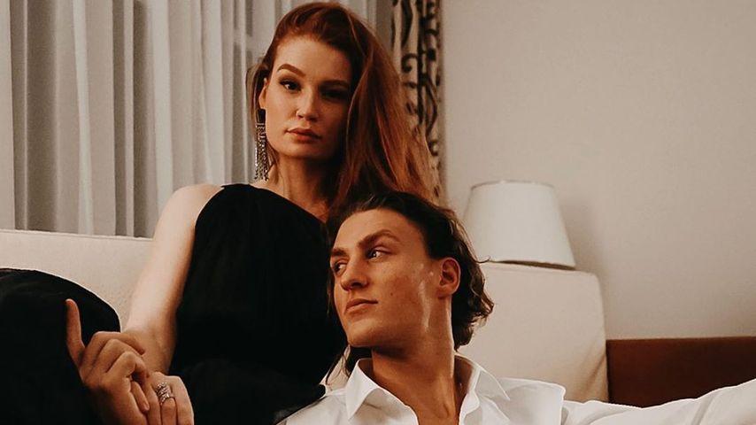 Jana Heinisch mit ihrem Freund Yul Oeltze