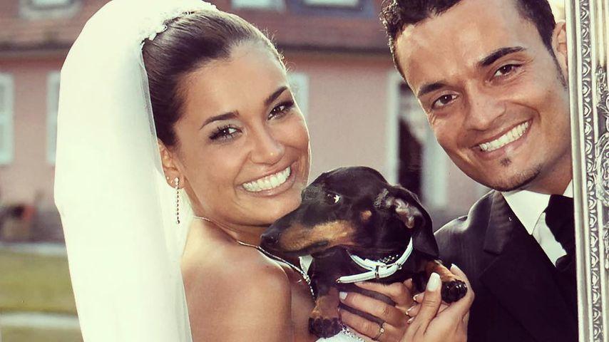 Jana Ina und Giovanni Zarrella auf ihrer Hochzeit 2005