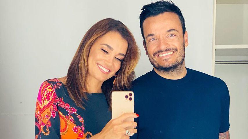 Jana Ina und Giovanni Zarrella, August 2020