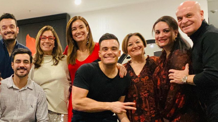 Jana Ina und Giovanni Zarrella mit ihren Familien