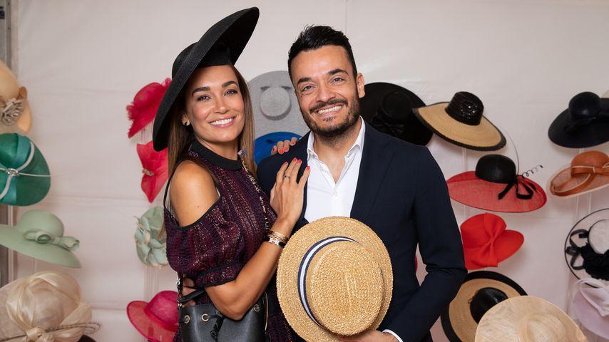 Jana Ina Zarrella mit ihrem Mann Giovanni, September 2019