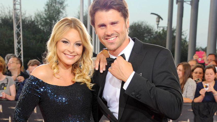 Jana Julie Kilka und Thore Schölermann beim deutschen Fernsehpreis