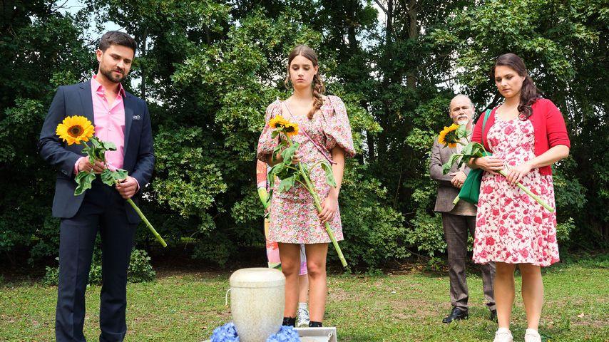 "Jana Schäfers Beerdigung in ""Unter uns"", 2020"
