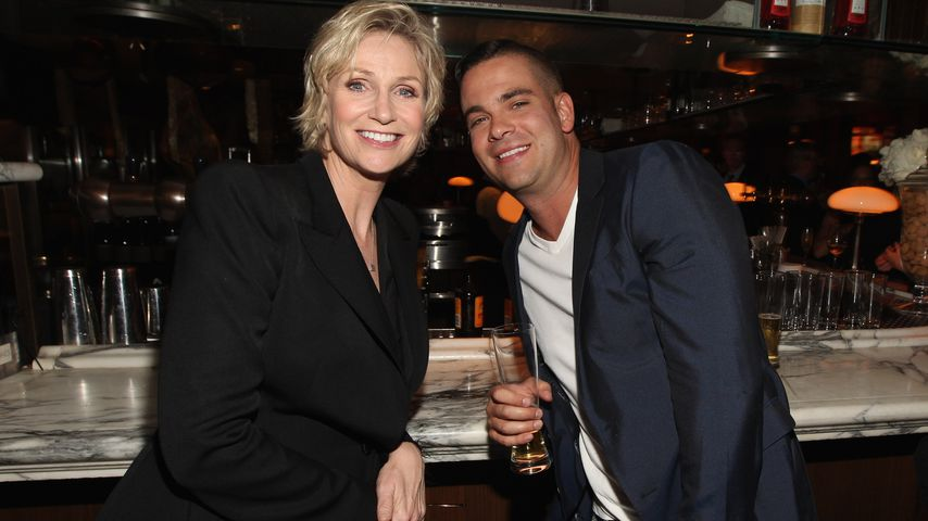 Jane Lynch und Mark Salling