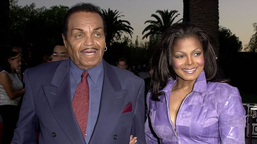 Joe und Janet Jackson bei einer Filmpremiere