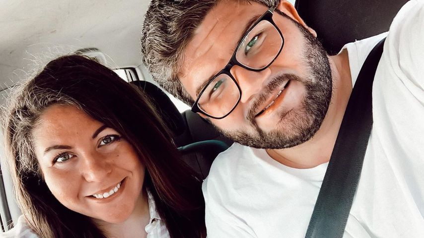 Janina El Arguioui mit ihrem Mann Christian