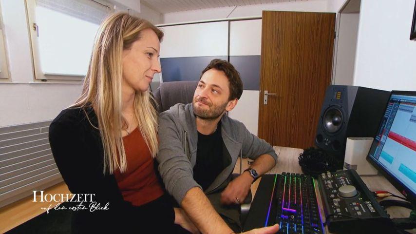 """Janina und Dennis, """"Hochzeit auf den ersten Blick""""-Paar"""