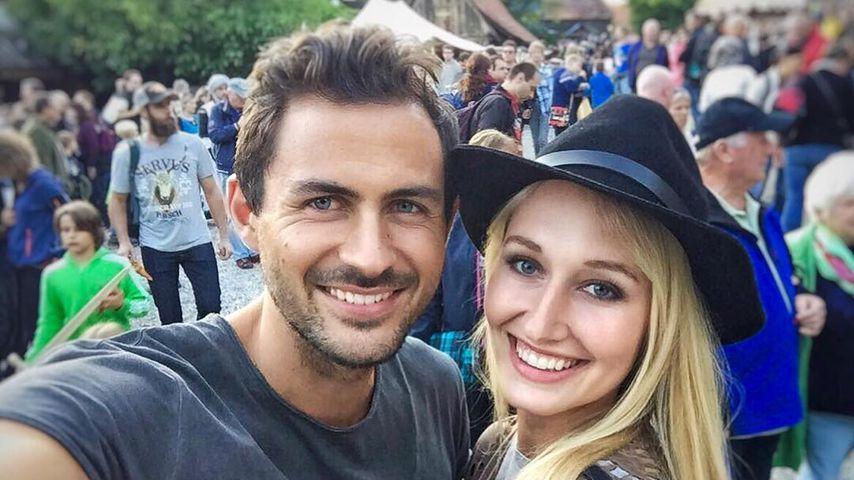Janina Weschta (rechts) und ihr Freund