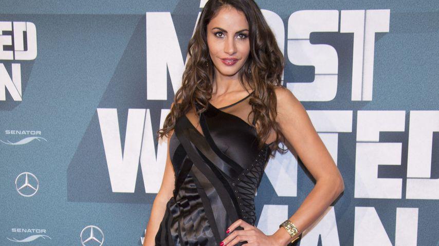 Wie bitte? Model Janina Youssefian findet ihre Beine zu dick