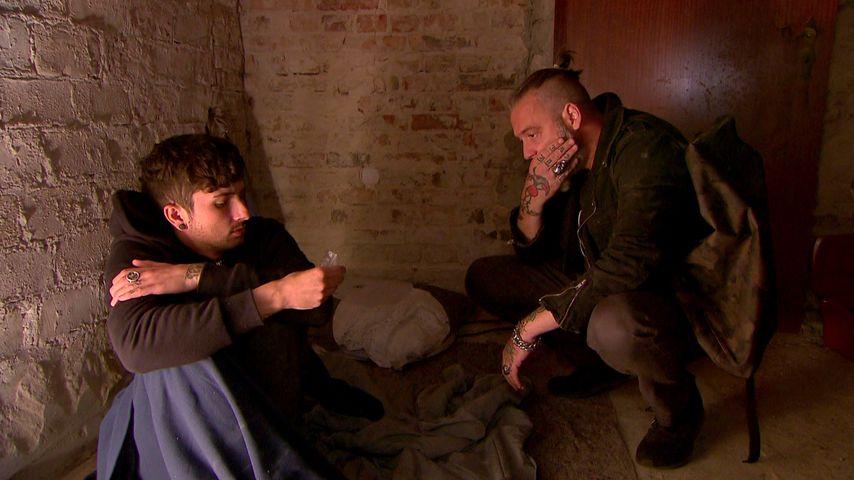 """Jannes (Benjamin Mittelstädt) und Theo (Ranndy Frahm) bei """"Berlin - Tag & Nacht"""""""
