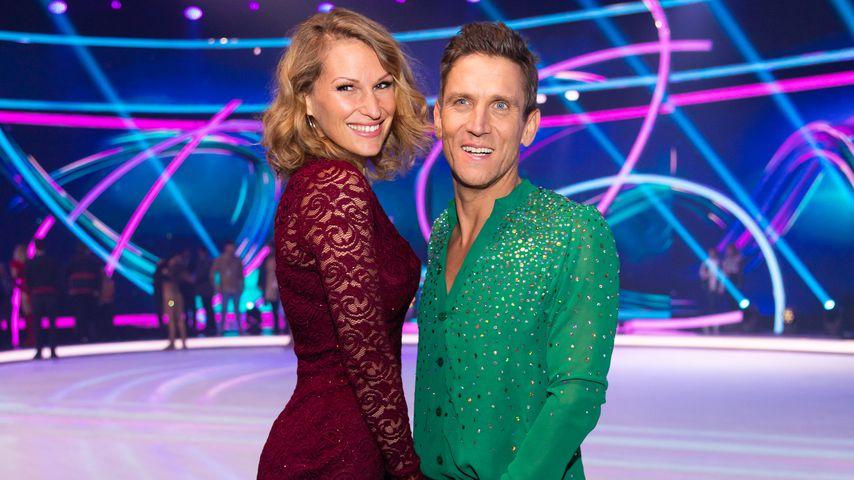 """Janni Hönscheid und Peer Kusmagk bei """"Dancing on Ice"""" 2019"""
