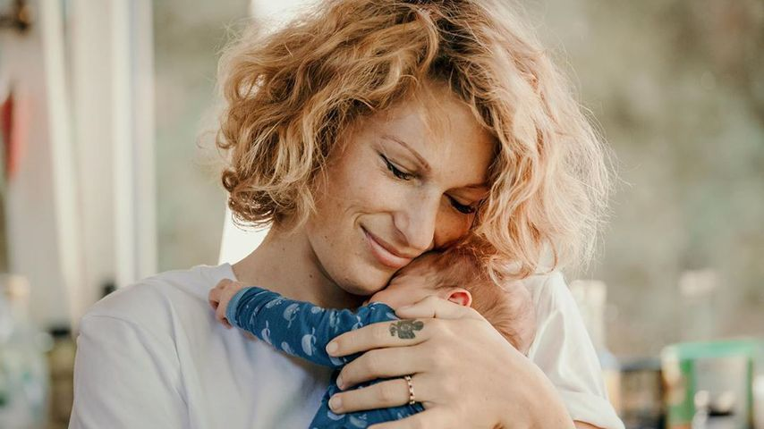 Janni Kusmagk mit ihrer Tochter Yoko