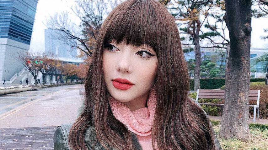 Jannine Weigel im November 2019 in Südkorea