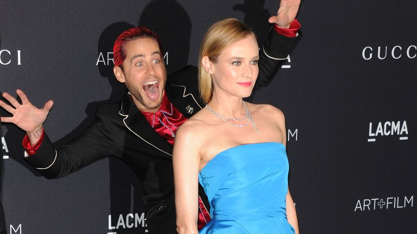 Wiederholungs-Täter! Jared Leto photobombt Diane Kruger