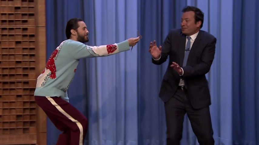 "Jared Leto in der ""The Tonight Show Starring Jimmy Fallon"""