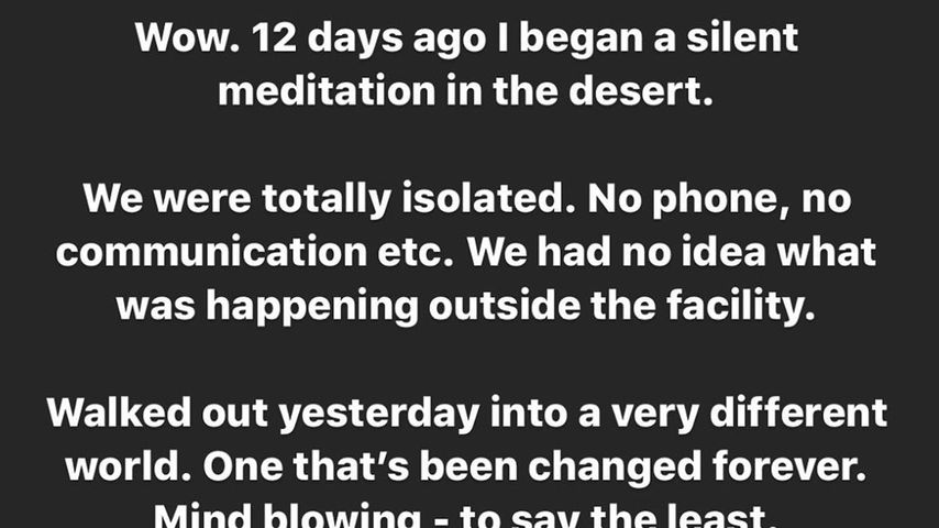 Jared Letos Instgram-Post