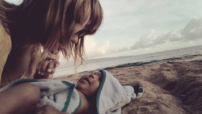 Eigentlich verschollen: Jasmin Tawil hat ein Baby bekommen