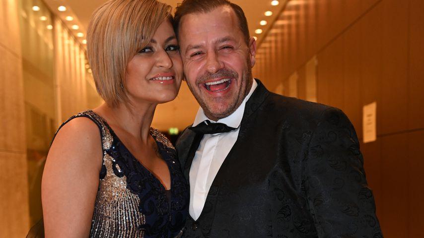 Jasmin und Willi Herren bei der Dorint Charity Night in Köln im Dezember 2019
