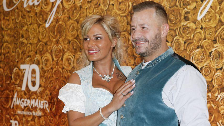 Jasmin und Willi Herren bei der Angermaier Trachten-Nacht 2018