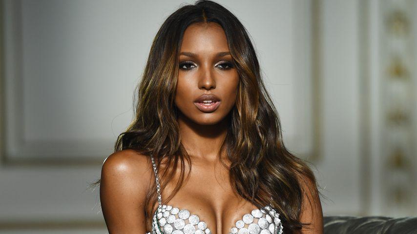 """Jasmine Tookes beim """"Fantasy Bra""""-Fotoshooting für """"Victoria's Secret"""""""