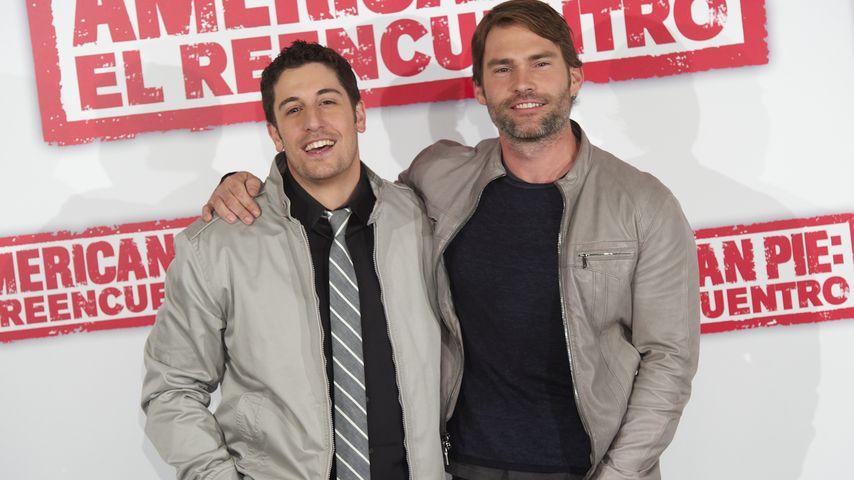 """Jason Biggs und Seann William Scott bei der Premiere zu """"American Pie: Klassentreffen"""""""