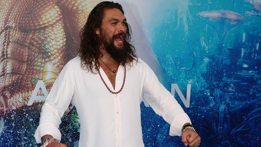 "Jason Momoa bei der ""Aquaman""-Premiere in Australien"
