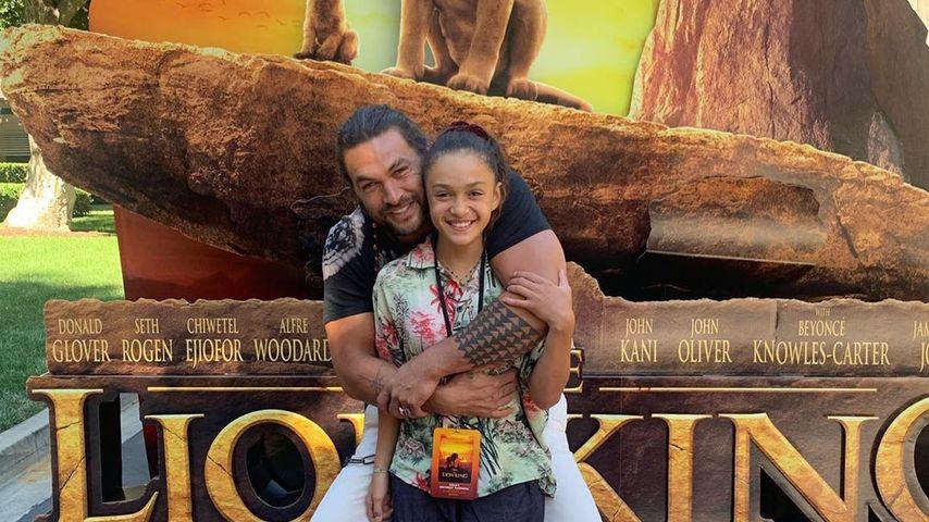 Jason Momoa mit seiner Tochter Lola