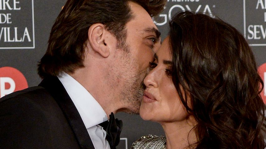 Javier Bardem und Penelope Cruz bei den Goya Cinema Awards 2018 in Madrid