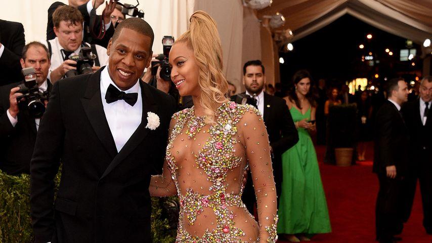 Jay-Z und Beyoncé bei der MET Gala 2015