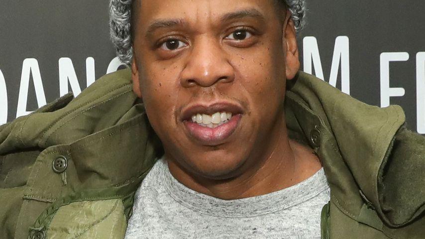 "Jay-Z bei der ""Time: The Kalief Browder Story""-Premiere in Park City im Januar 2017"