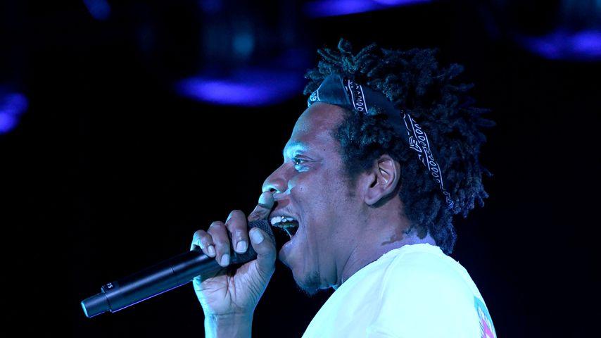Jay-Z bei einem Auftritt im April 2019