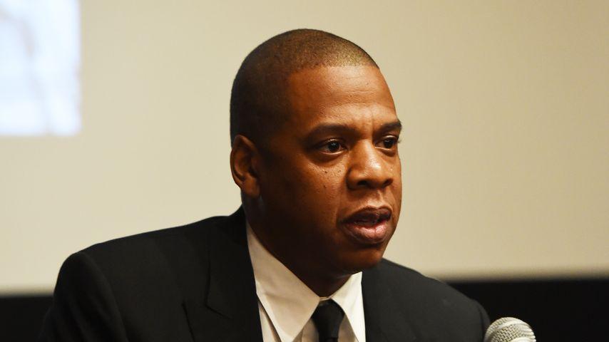 Jay-Z im Oktober 2016 bei einer Pressekonferenz zu seinem Dokumentar-Film in New York
