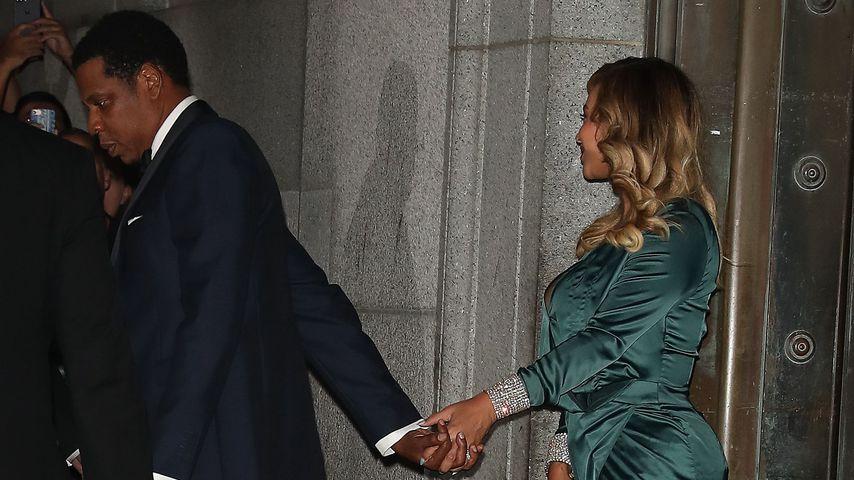Überglücklich: Beyoncé & Jay-Z beim Diamond Ball!