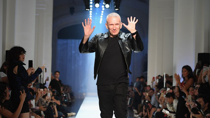 Jean Paul Gaultier auf der Paris Fashion Week im Juli 2018